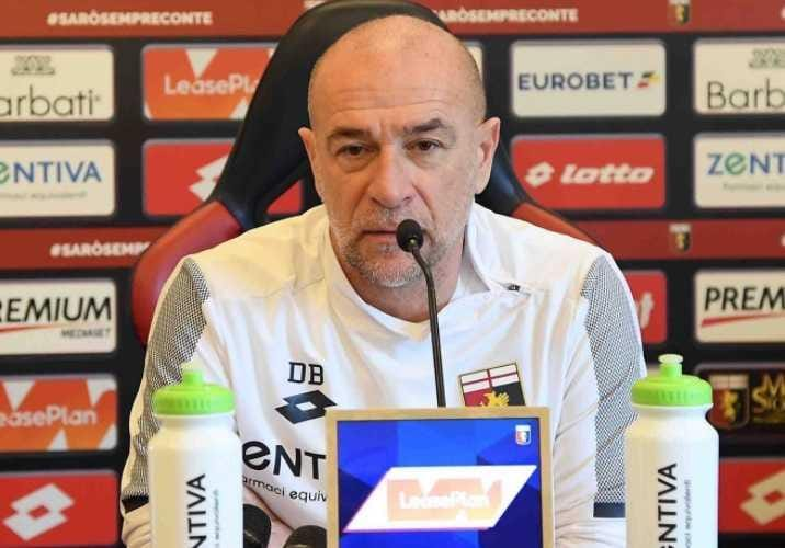 Ballardini conferenza Genoa Twitter