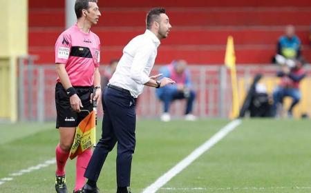 De Zerbi panchina Benevento Facebook
