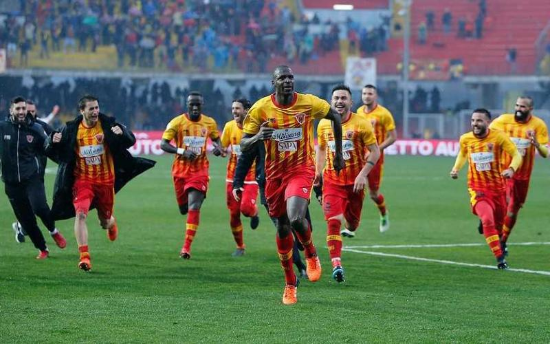 Diabaté esultanza Benevento pagina Facebook