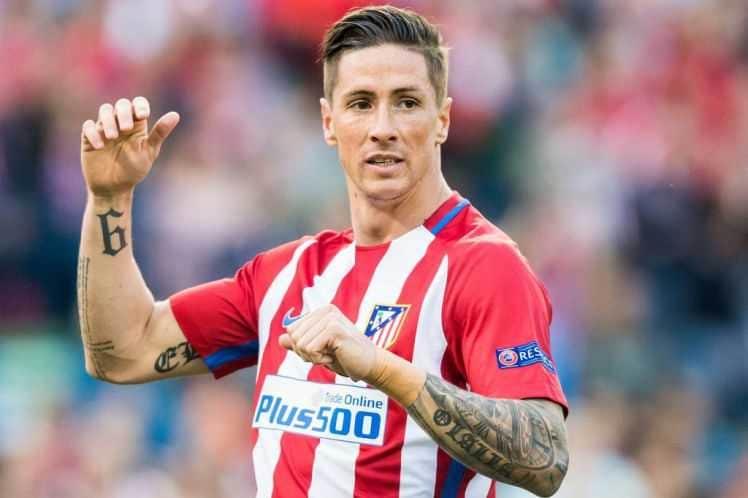Fernando Torres Atletico Madrid Foto: Metro