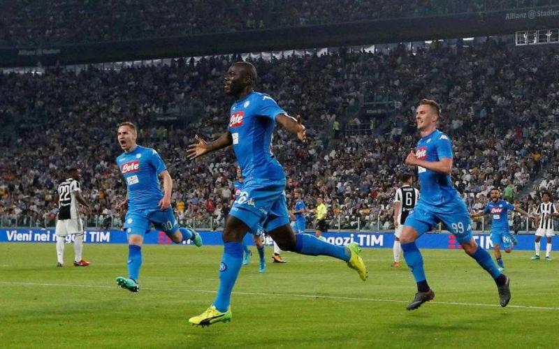 Koulibaly gol vs Juventus Foto The Sun