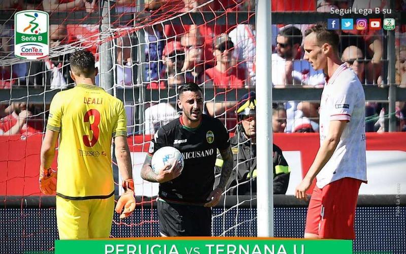Perugia Ternana 2-3