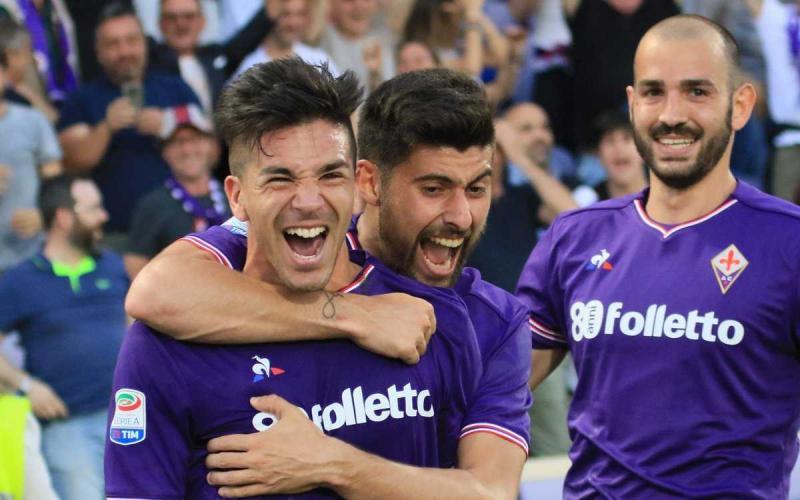 Simeone gol vs Napoli Foto Fiorentina Twitter
