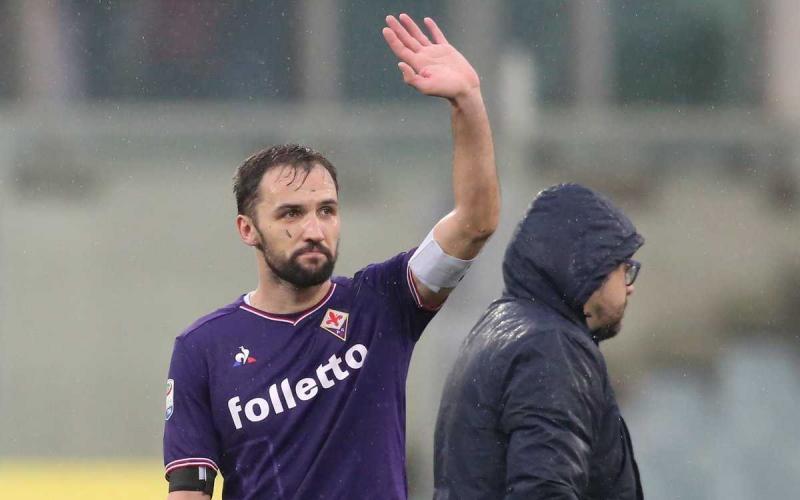 Badelj saluto Fiorentina Twitter