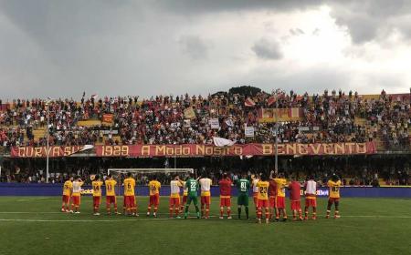 Benevento Curva Foto Facebook ufficiale
