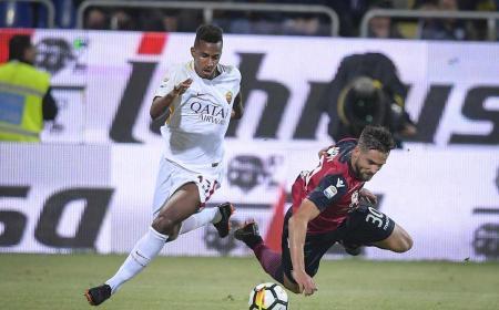 Capradossi vs Cagliari Foto Roma Twitter