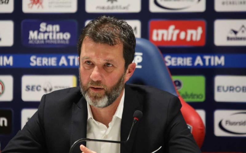 Carli conferenza Cagliari Twitter