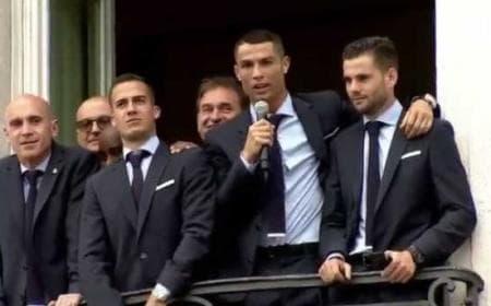 Crisiano Ronaldo discorso piazza Madrid Twitter Real