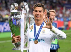 Cristiano Ronaldo Twitter uff Champions League