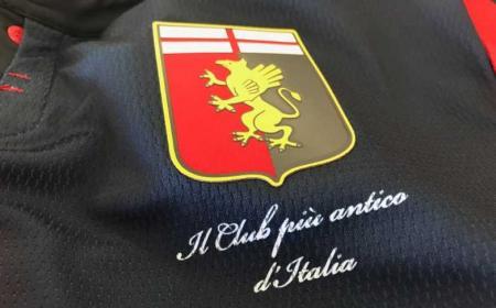 Genoa logo maglia 2018