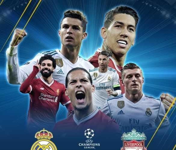 Grafica finale Real Madrid Liverpool Foto Champions League Twitter