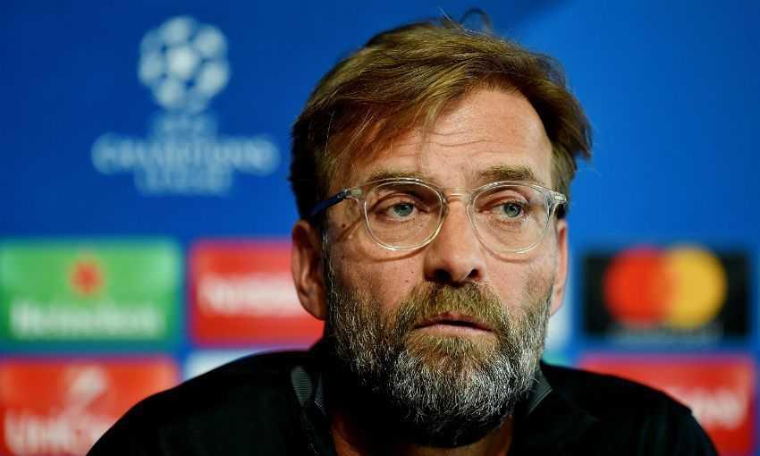 Klopp Jurgen conferenza Liverpool sito ufficiale