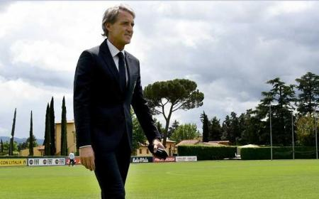 Mancini Coverciano Foto Nazionale Twitter