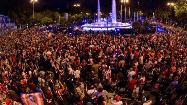 Tifosi Marsiglia Atletico Lione Foto Marca