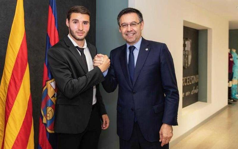 Abel Ruiz sito uff Barcellona