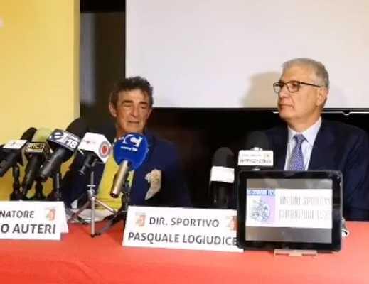 Auteri conferenza presentazione Catanzaro fb