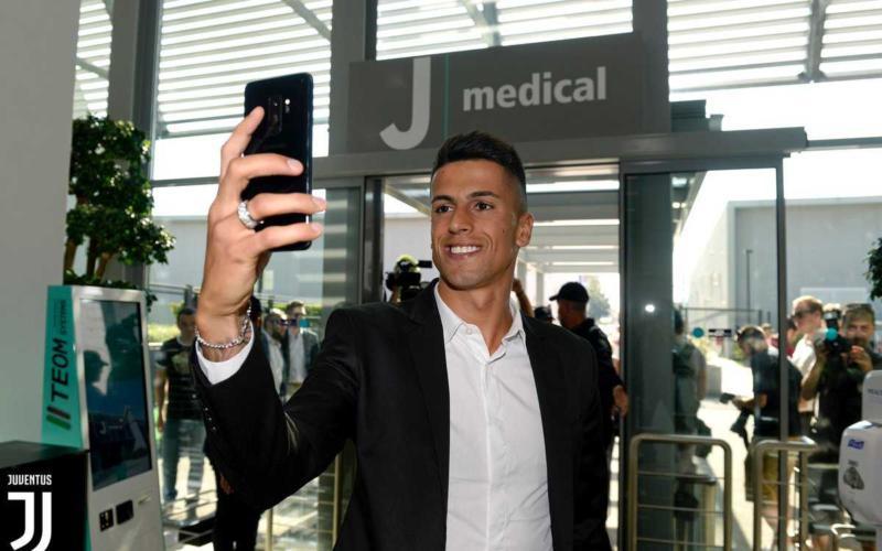 Cancelo selfie JMedica Foto Juventus Twitter
