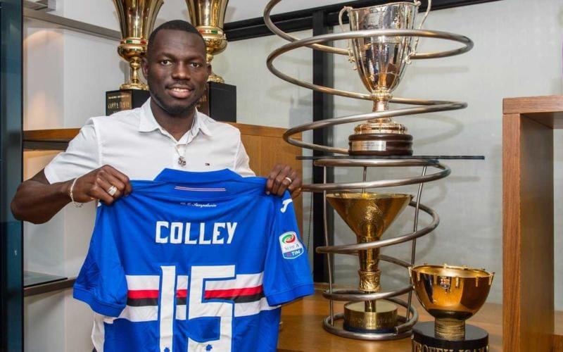 Colley Twitter ufficiale Sampdoria