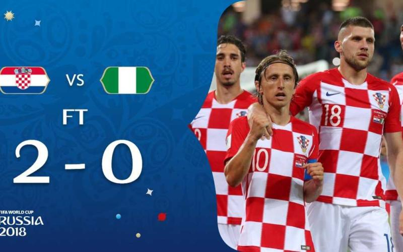Croazia Nigeria 2-0