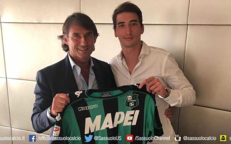 Djuricic annuncio Sassuolo Twitter