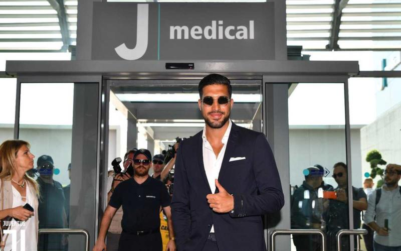 Emre Can al J Medical Torino Juventus Twitter