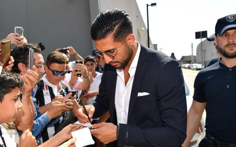 Emre Can al J Medical tifosi Juventus Twitter
