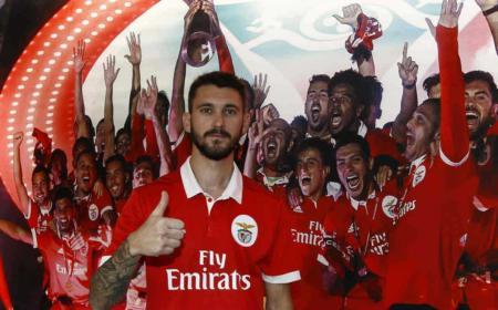 Ferreyra presentazione Benfica sito ufficiale