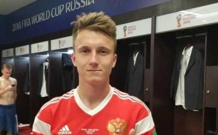 Golovin Twitter uff TeamRussia