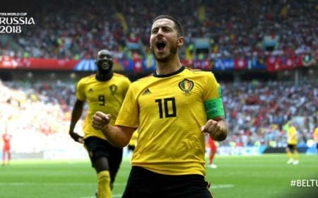 Hazard Twitter Fifa World Cup