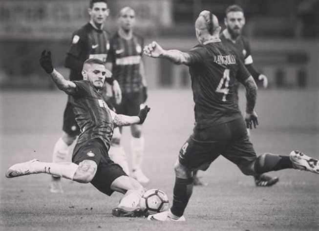 Icardi e Nainggolan Foto Icardi Instagram