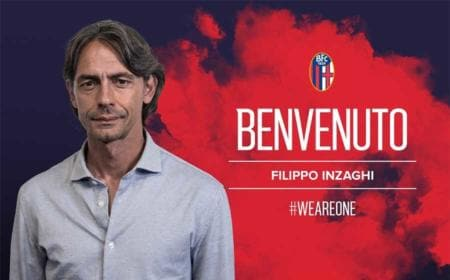 Inzaghi Bologna anncunio Twitter