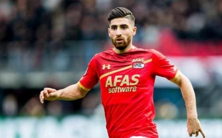 Jahanbakhsh AZ Alkmaar Foto Financial Tribune