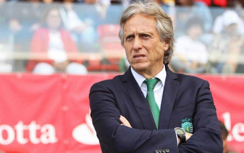 Jorge Jesus Sporting Lisbona Foto AS