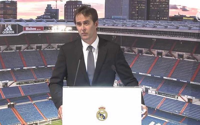 Lopetegui presentazione Real Madrid sito ufficiale