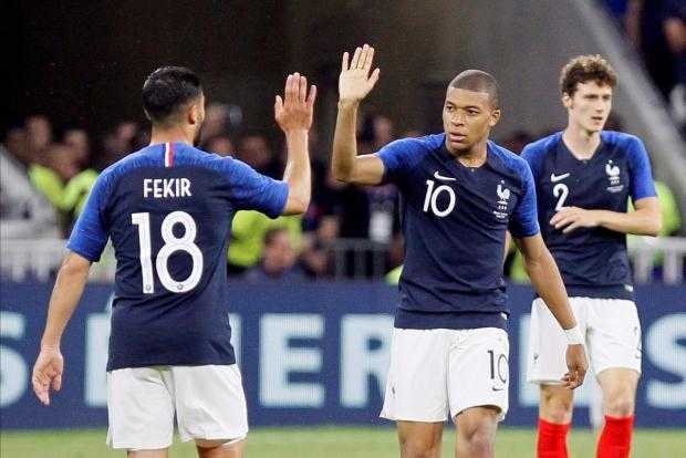 Mbappé France 2018 Foto Times
