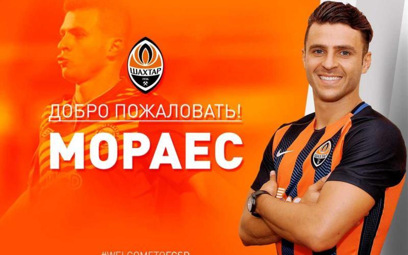 Moraes annuncio Shakhtar Donetsk Twitter