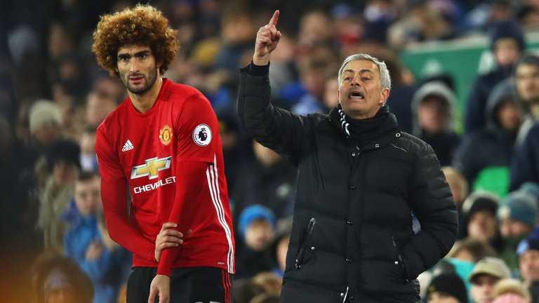 Mourinho e Fellaini Foto Sportmediamk
