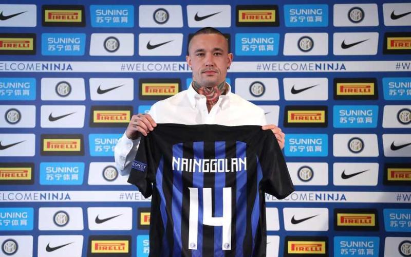Nainggolan presentazione Inter sito ufficiale