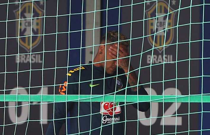 Neymar Twitter Mirror Football