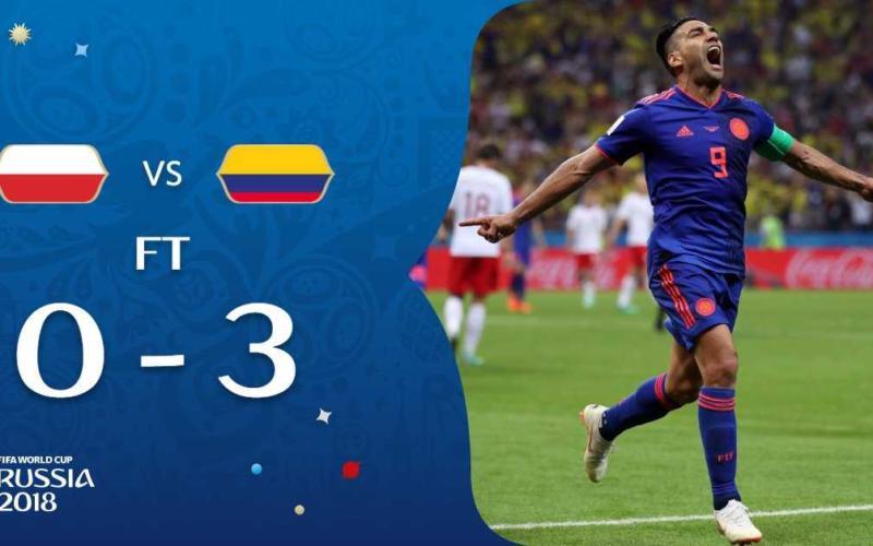 Polonia Colombia 3-0 Falcao Fifa Twitter