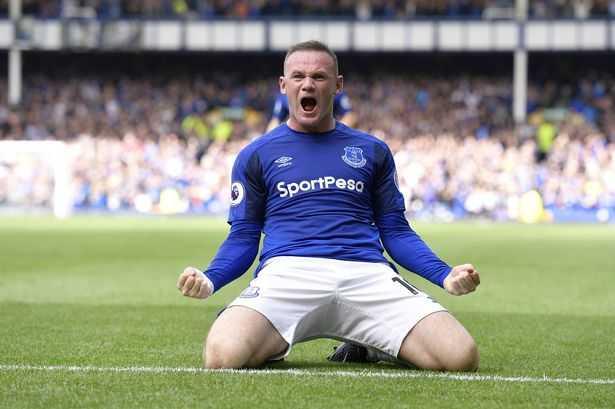 Rooney Everton 17-18 Foto Mirror