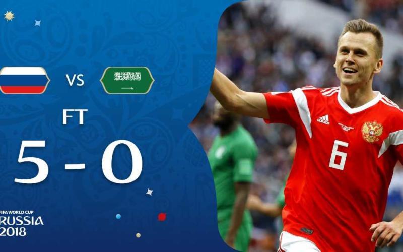 Russia Arabia Saudita Fifa Twitter