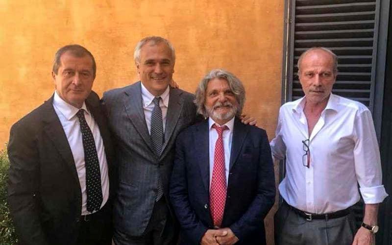 Sabatini annuncio Sampdoria Twitter