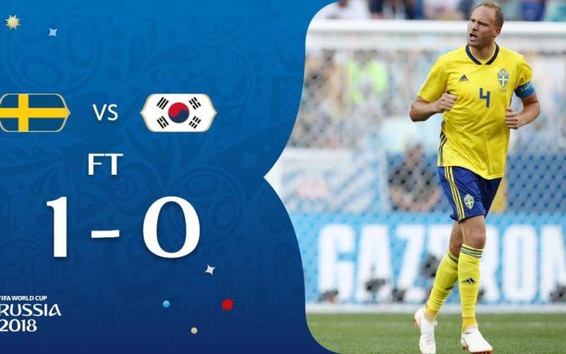 Svezia-Corea 1-0 Granqvist Fifa Twitter