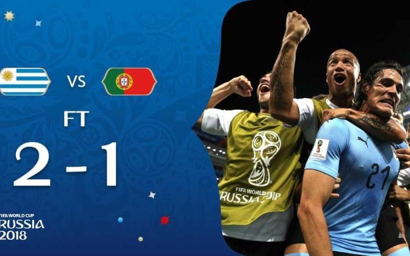 Uruguay Portogallo 2-1 Cavani Fifa Twitter