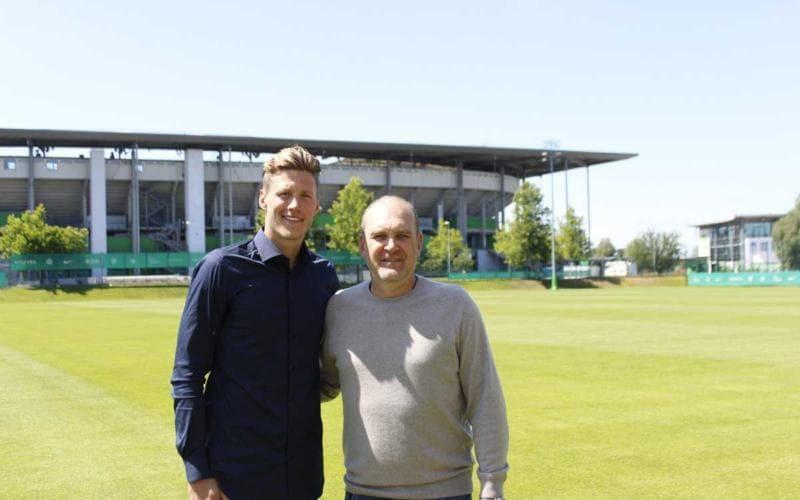Weghorst annuncio Wolfsburg Twitter