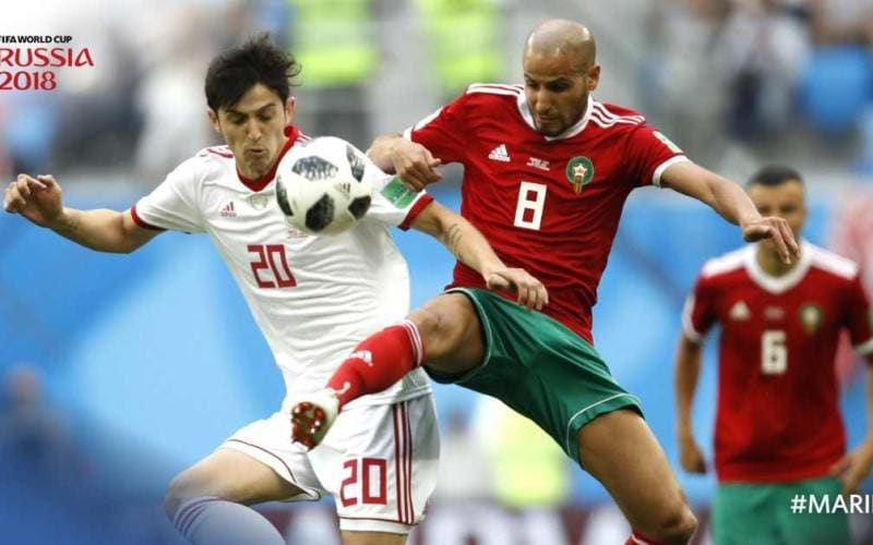 iran marocco twitter fifa world cup