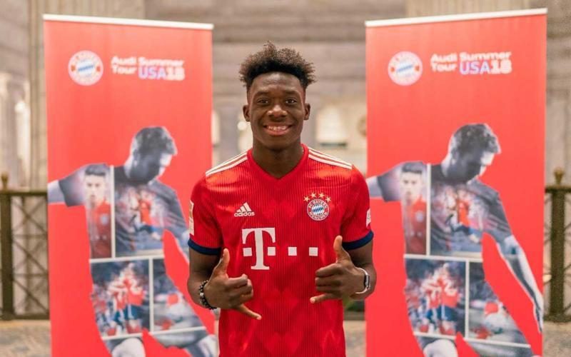 Alphonso Davies Twitter Bayern