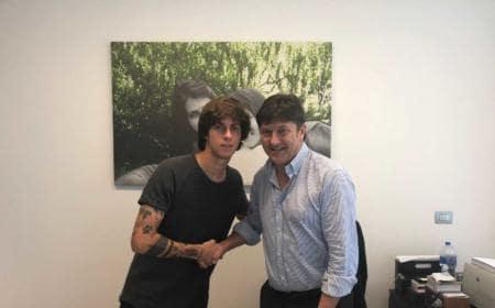 Antonucci Mirko e Sebastiani firma Pescara