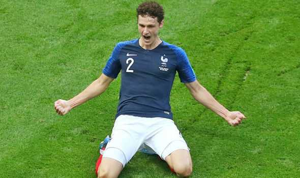 Benjamin Pavard express.com.uk